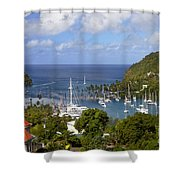 Marigot Bay Shower Curtain