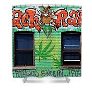 Marijuana 3 Shower Curtain