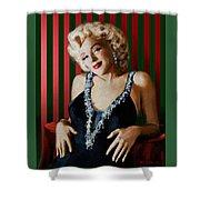 Marilyn 126 D Stripes Shower Curtain