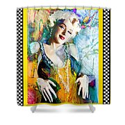 Marilyn 126 Racing Shower Curtain