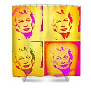Marilyn Grew Up Shower Curtain
