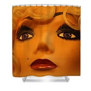 Marilyn Mannequin Shower Curtain