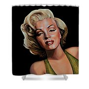 Marilyn Monroe 2 Shower Curtain by Paul Meijering