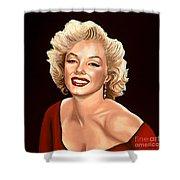 Marilyn Monroe 3 Shower Curtain by Paul Meijering