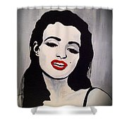 Marilyn Monroe Aka Norma Jean The Beginning Shower Curtain