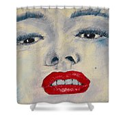 Marilyn Monroe Shower Curtain by David Patterson