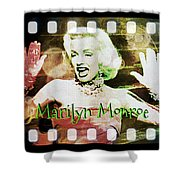 Marilyn Monroe Film Shower Curtain