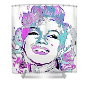 Marilyn Monroe I Want To Be Loved By You Shower Curtain