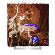 Marilyn Monroe In Fantasy Land Shower Curtain