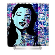 Marilyn Monroe. Loved Lost . Loved Again 2 Shower Curtain
