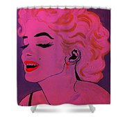 Marilyn Monroe Pop Art Shower Curtain
