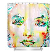 Marilyn Monroe Portrait.5 Shower Curtain