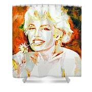 Marilyn Monroe Portrait.9 Shower Curtain