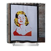 Marilyn Monroe Shower Curtain by Rob Hans