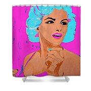 Marilyn Monroe Undisputed Beauty Shower Curtain