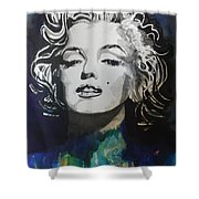 Marilyn Monroe..2 Shower Curtain by Chrisann Ellis