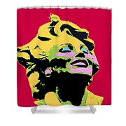 Marilyn Three Shower Curtain