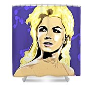 Marilyn What A Beautiful Girl Shower Curtain