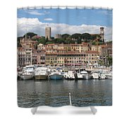 Marina Cannes Shower Curtain