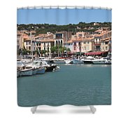 Marina Cassis Shower Curtain