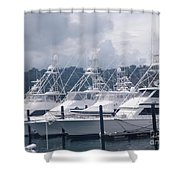 Marina Costa Rica Shower Curtain