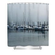 Marina Fog Shower Curtain