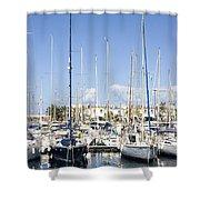 Marina Gran Canaria Shower Curtain
