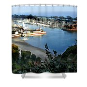Marina Overlook Shower Curtain