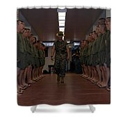 Marine Basic Training Shower Curtain