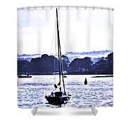 Marine Dream Shower Curtain