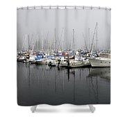 Marine Fog Shower Curtain