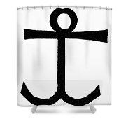 Mariner's Cross Shower Curtain