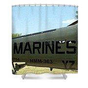 Marines Shower Curtain