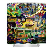 Marital Harmony 59 Shower Curtain