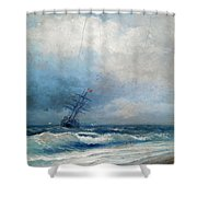Maritime Scene Shower Curtain