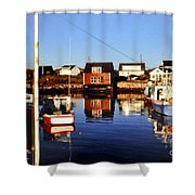 Maritme Shadows And Reflections Shower Curtain