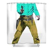 Mark It Zero Pop Art Shower Curtain