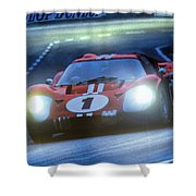 Mark 4 At Night Shower Curtain