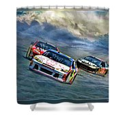Mark Martin Shower Curtain