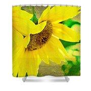 Mark Twain's Sunflowers Shower Curtain