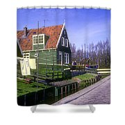 Marken Village Architecture Shower Curtain