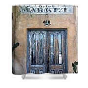 Market Shower Curtain