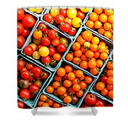 Market Fresh Tomatos Shower Curtain