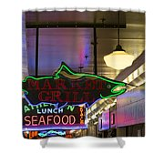 Market Grill Shower Curtain