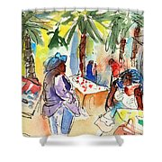 Market In Teguise In Lanzarote 03 Shower Curtain