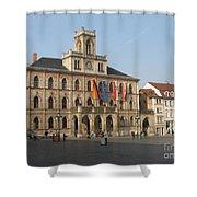 Market Place Weimar - Unesco Heritage Site Shower Curtain