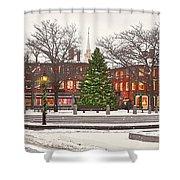 Market Square Christmas - 2013 Shower Curtain