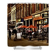 Market Square - Knoxville Tennessee Shower Curtain