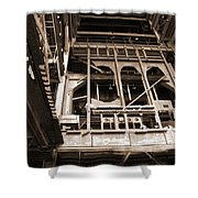 Market St. Power Plant #1 Shower Curtain