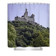 Marksburg Castle 14 Shower Curtain